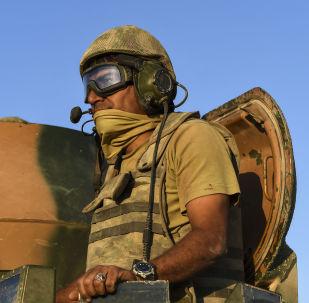 土耳其军人在叙利亚/资料图片/