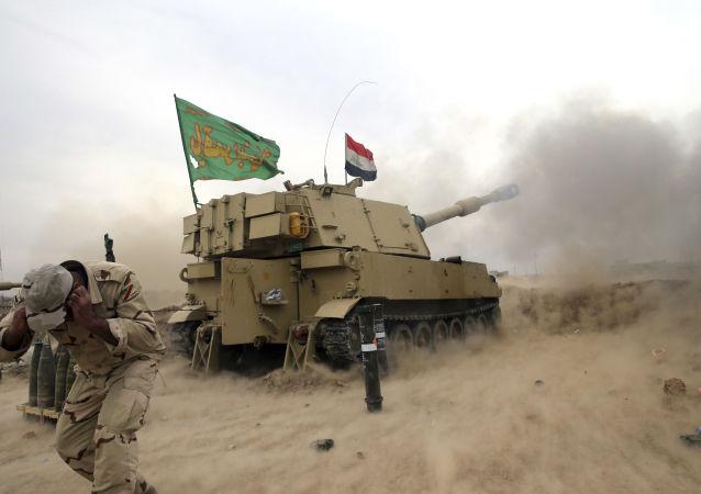 伊拉克部队已从武装分子手中完全解放摩苏尔机场