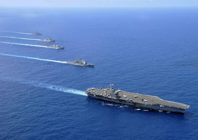 美国将军称海军继续在南海巡逻