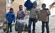 俄驻叙和解中心一天内向叙利亚提供愈8000吨人道援助