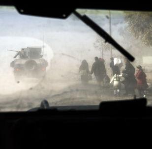 法新社:伊拉克政府军部队夺取摩苏尔以南两座村庄