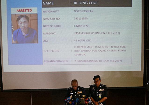 韩国政府认为刺杀金正男行动是朝鲜政府主使