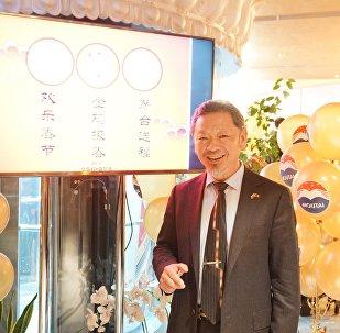 贵州茅台酒在俄经销商西纳公司董事长赵卫星