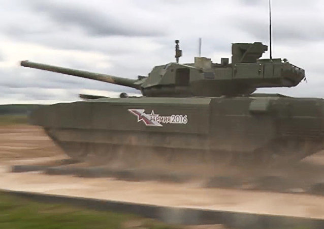 T-14阿玛塔坦克