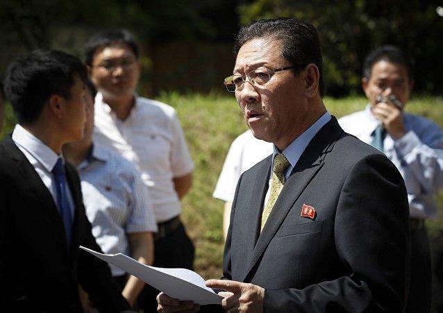 朝鲜大使离境最后期限即将到来 马来西亚警方封锁朝鲜使馆