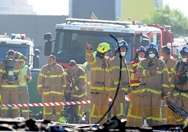 澳大利亚一架轻型飞机坠毁 无人生还