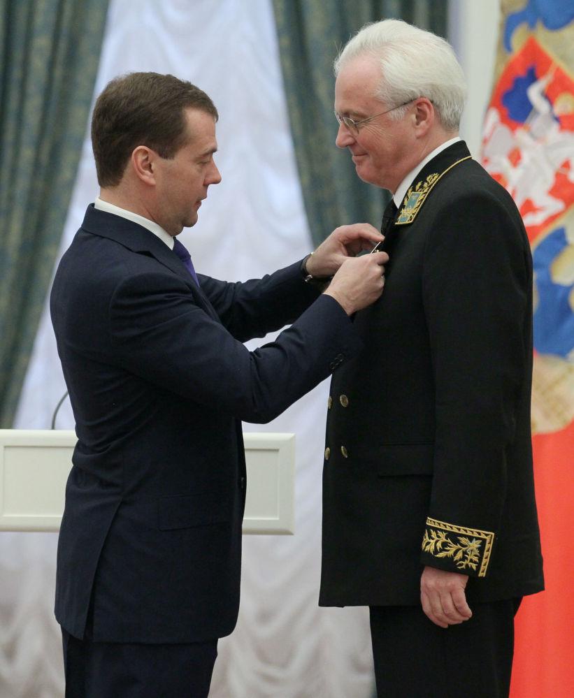 外交大师维塔利·丘尔金