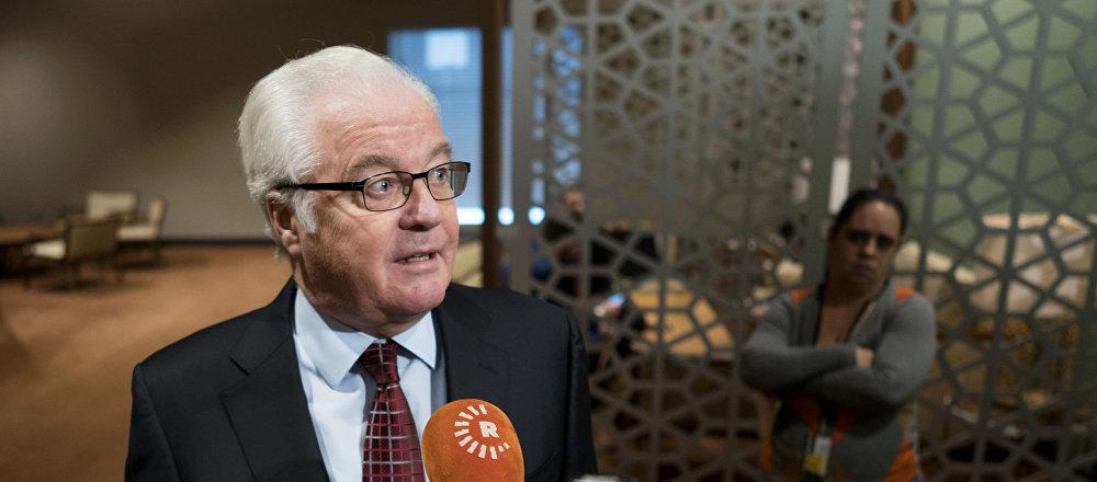 中国外交部:中方对俄常驻联合国代表丘尔金过世致以深切哀悼