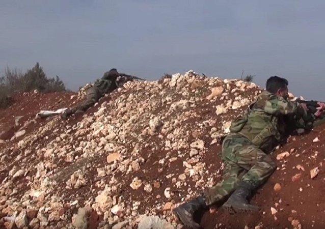 叙军坚守拉塔基亚山区防线