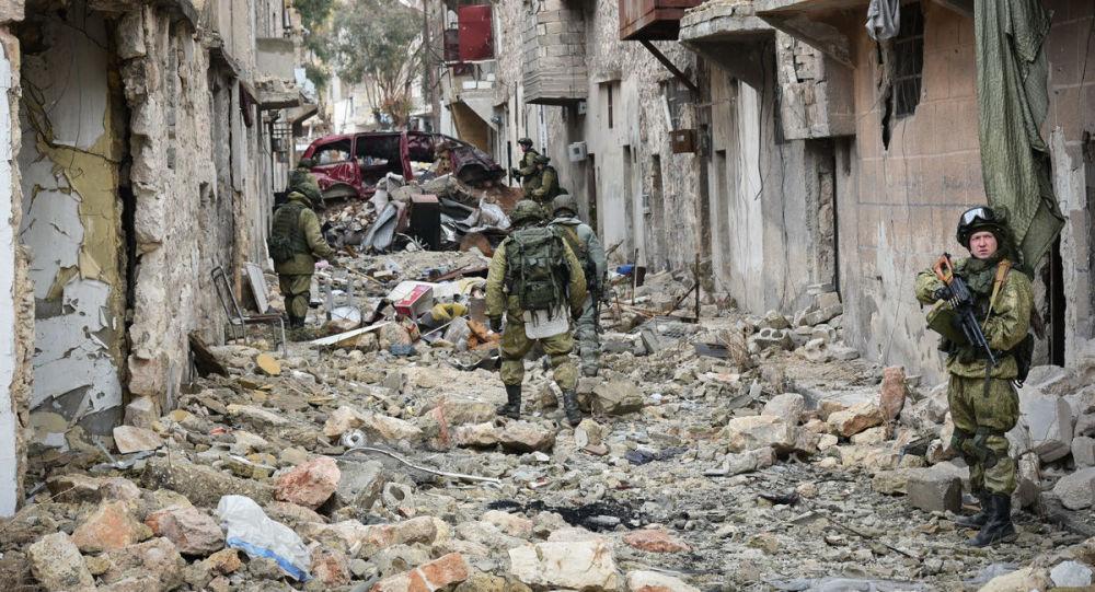 """俄罗斯是唯一一支重要的力量,有效打击叙境内的""""伊斯兰国"""""""