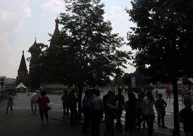 """中国国家旅游局:俄罗斯成为 中国""""超级假期""""热门旅游目的地"""