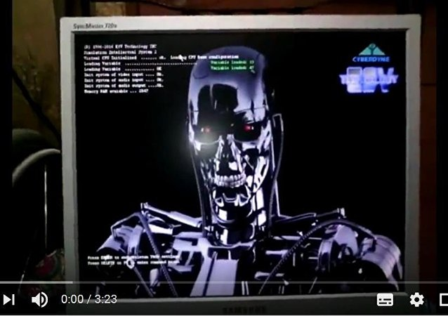 """彼尔姆程序员组装了会说话的""""终结者T-800"""""""