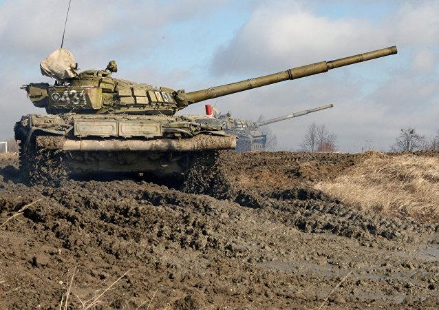 T-72B坦克