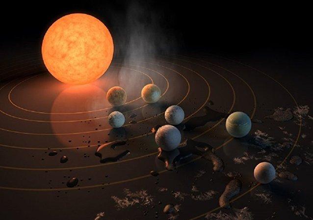 NASA发现七颗或适宜生存的类地行星