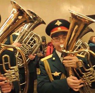 俄罗斯军事音乐团