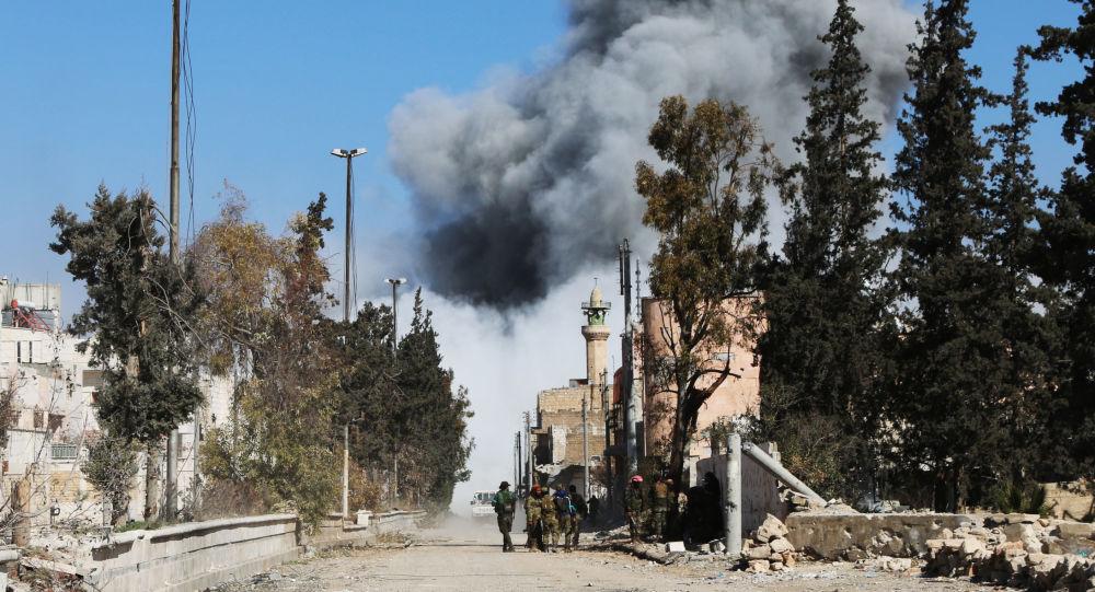 叙利亚军队逼近代尔祖尔郊区
