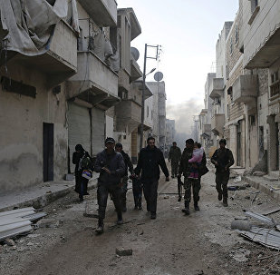 希利亞軍隊在巴卜市