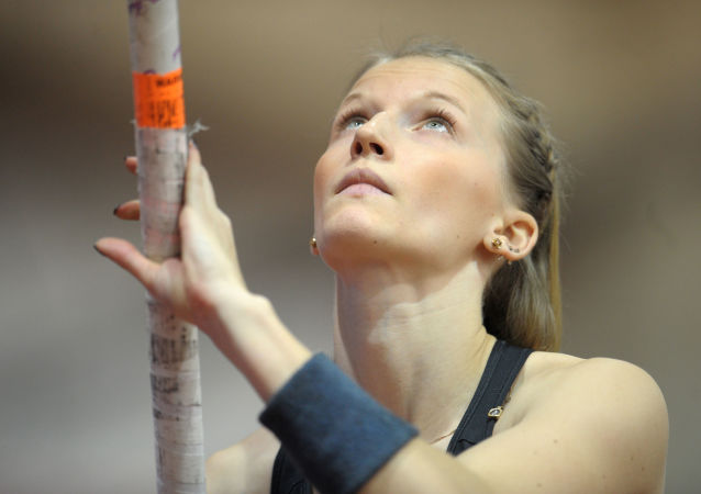俄罗斯运动员安热莉卡∙西多罗娃