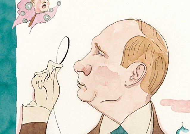 Путин на обложке журнала The New Yorker