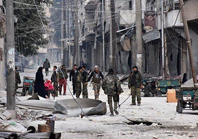 消息人士:叙霍姆斯发生两起自杀式袭击造成35人死亡