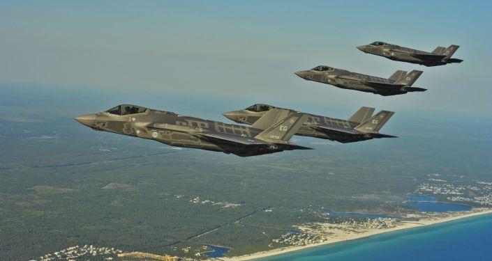 """美国空军计划在中东地区部署F-35打击""""伊斯兰国"""""""