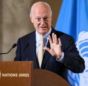 聯合國否認有關敘利亞問題特使德米斯圖拉離職的消息
