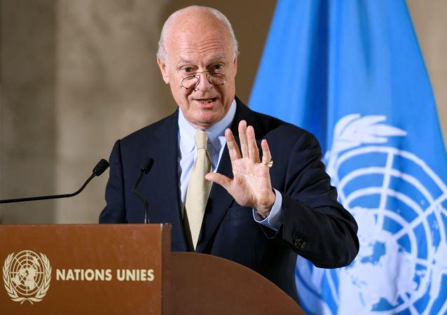 联合国否认有关叙利亚问题特使德米斯图拉离职的消息