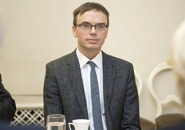 爱沙尼亚外交部长斯文∙米克塞尔