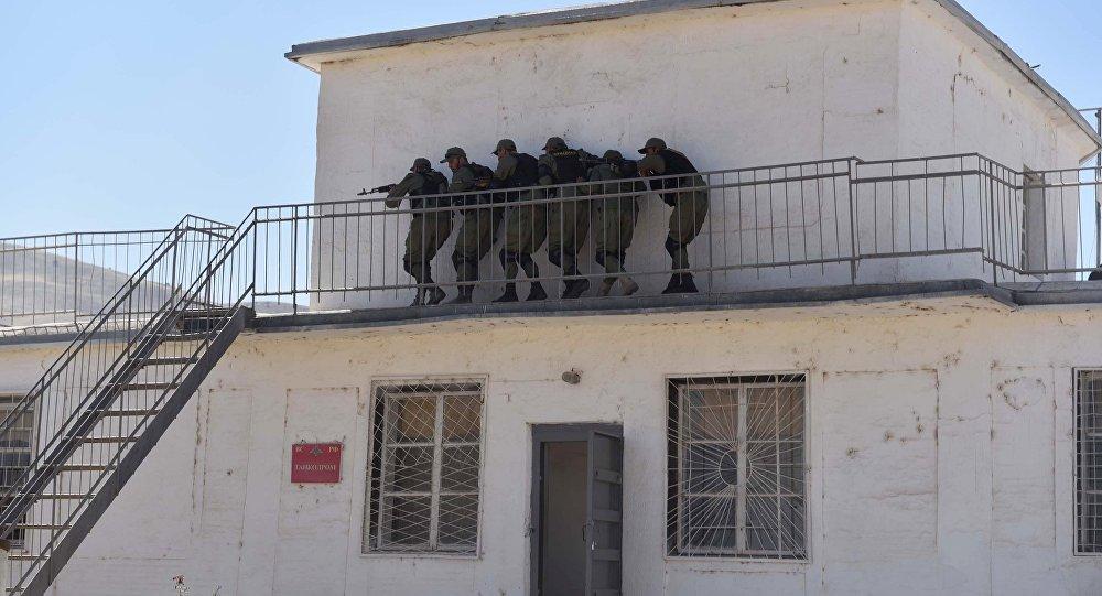 俄军驻塔第201基地