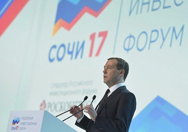 俄总理称俄罗斯经济进入增长期