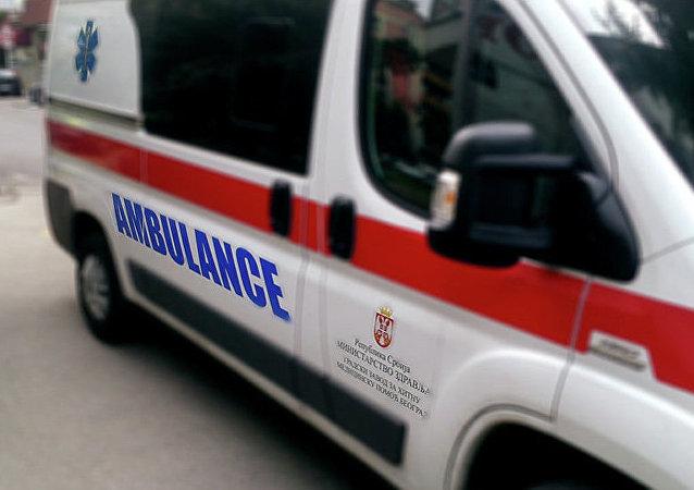 据媒体报道,塞尔维亚一家军工厂的弹药爆炸起火,20人受伤