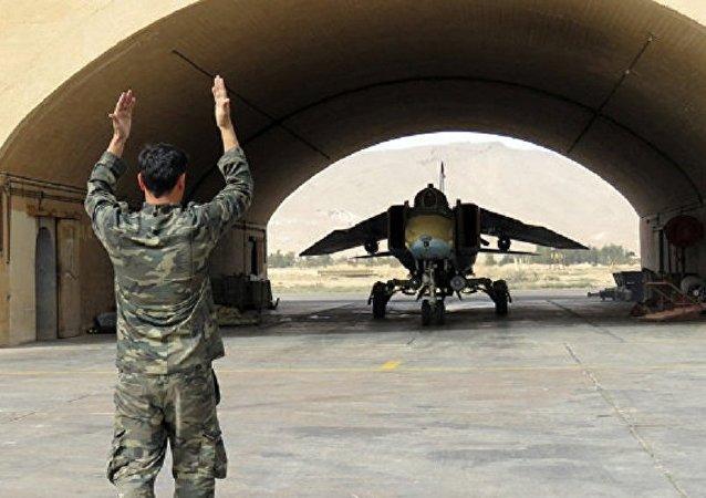 叙利亚战机(图片资料)
