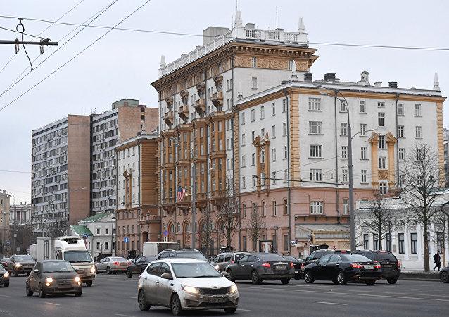 美国大使馆在莫斯科