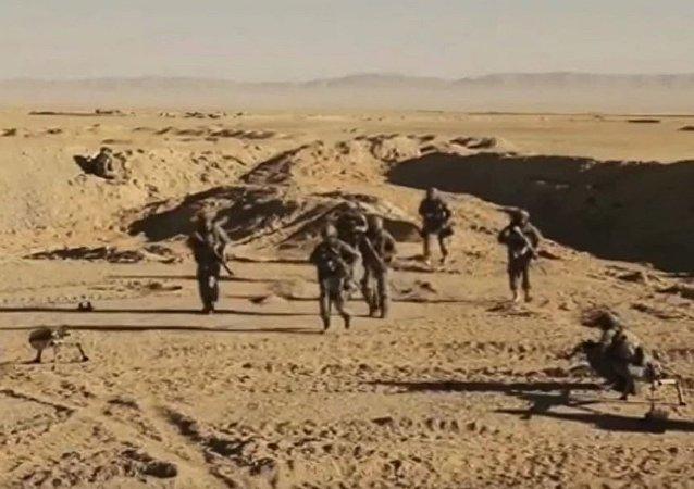 俄罗斯特种部队在叙利亚的行动