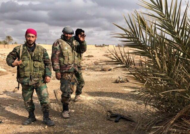 """叙利亚政府军已包围""""伊斯兰国""""在哈马省的大型据点"""