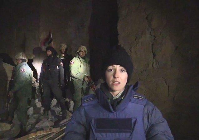 巴尔米拉获得解放 RT电视台记者率先抵达