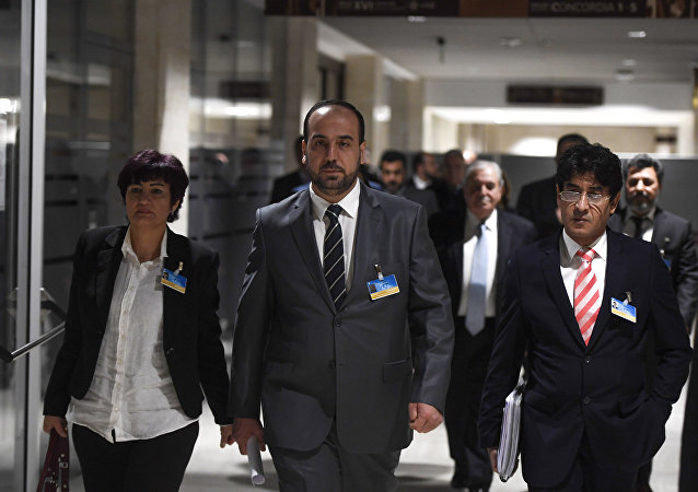 叙利亚反对派高级谈判委员会代表哈里里