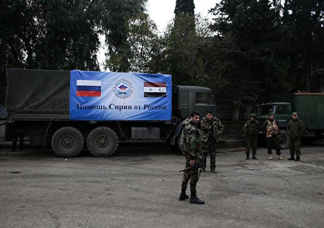 叙利亚借助俄罗斯摆脱国家分裂