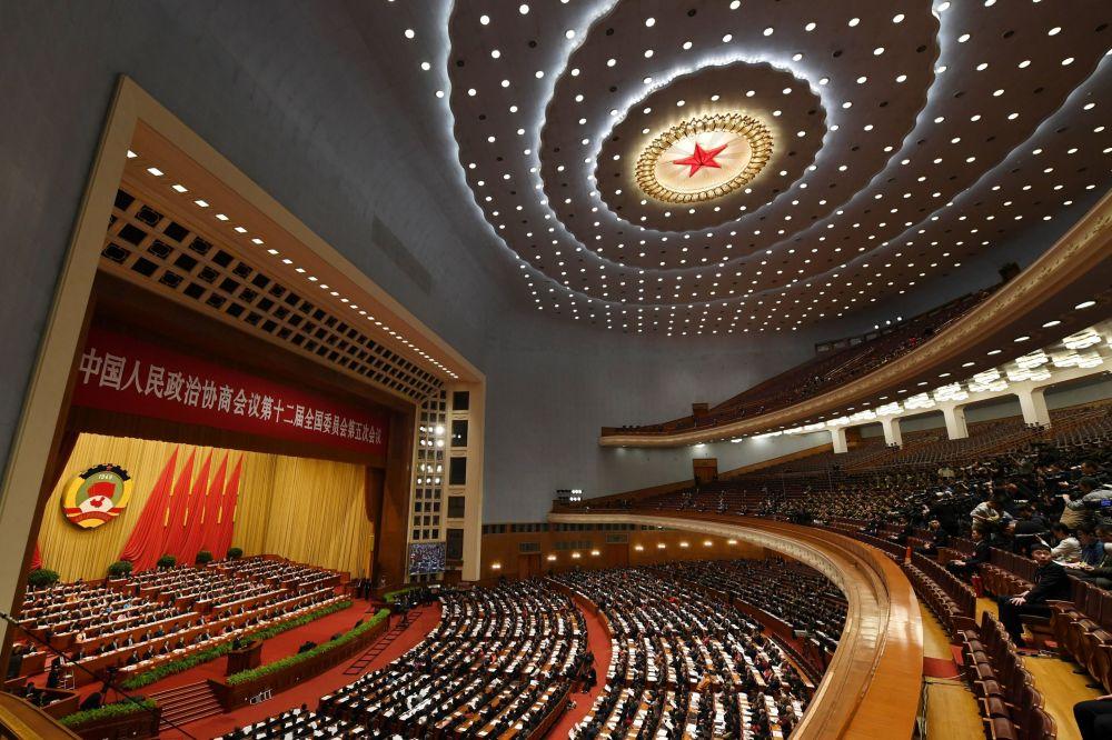 中國人民政治協商會議全國委員會會議開幕