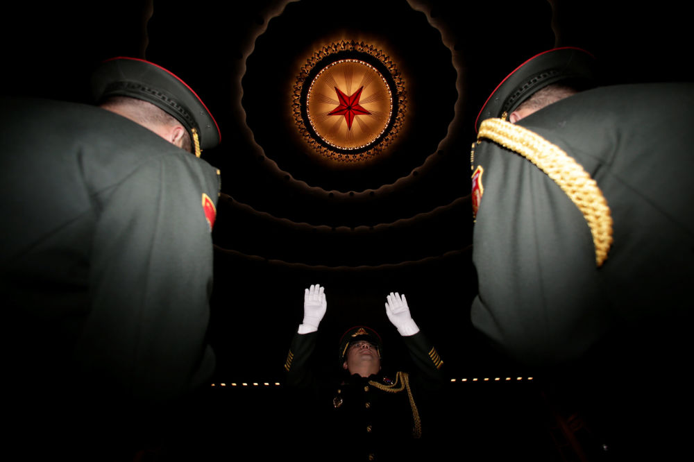 軍樂隊排練