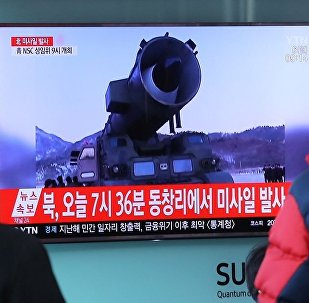 韓情報部門:朝鮮通過導彈試驗敦促美國與其建立新型關係
