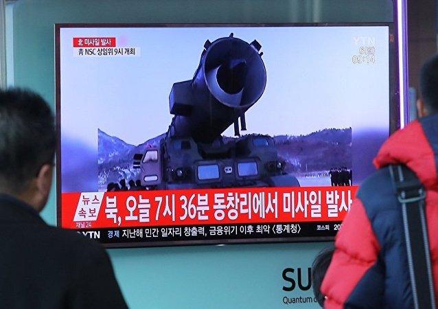 日本外相与美国务卿电话讨论朝鲜导弹发射问题