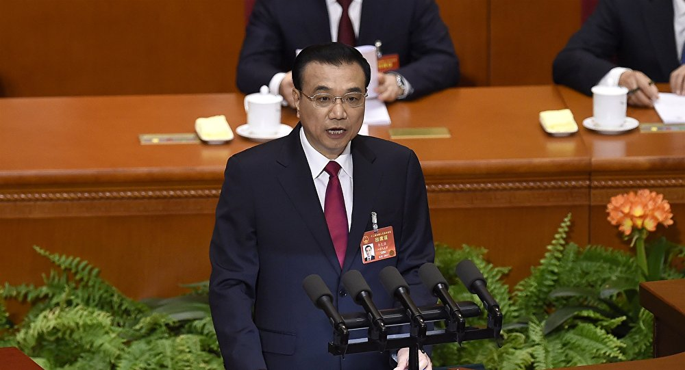 中国国务院总理李克强强调要不断增强经济创新力和竞争力