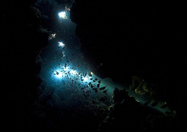 华媒:中国深海滑翔机创下世界最大下潜记录