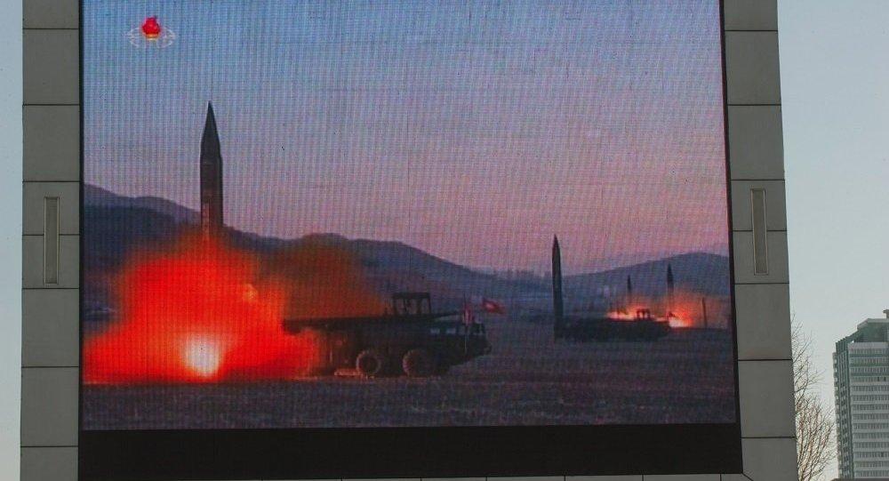 """日本视朝鲜试验火箭发动机为""""不可接受的挑衅"""""""