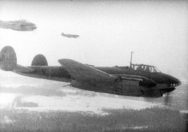 苏联轰炸飞机