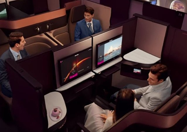 Qsuite - Qatar Airways New Business Class