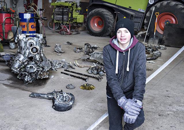 丹麦发现二战飞机残骸和飞行员遗体