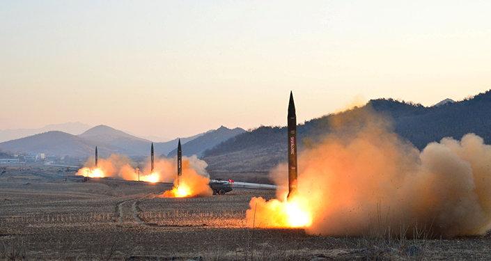 朝鮮領導人稱該國大推力發動機試驗為「3月18日革命」