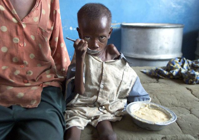 40%的苏丹人挨饿